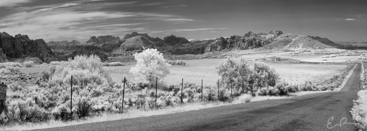 Wide Open Spaces in Infrared
