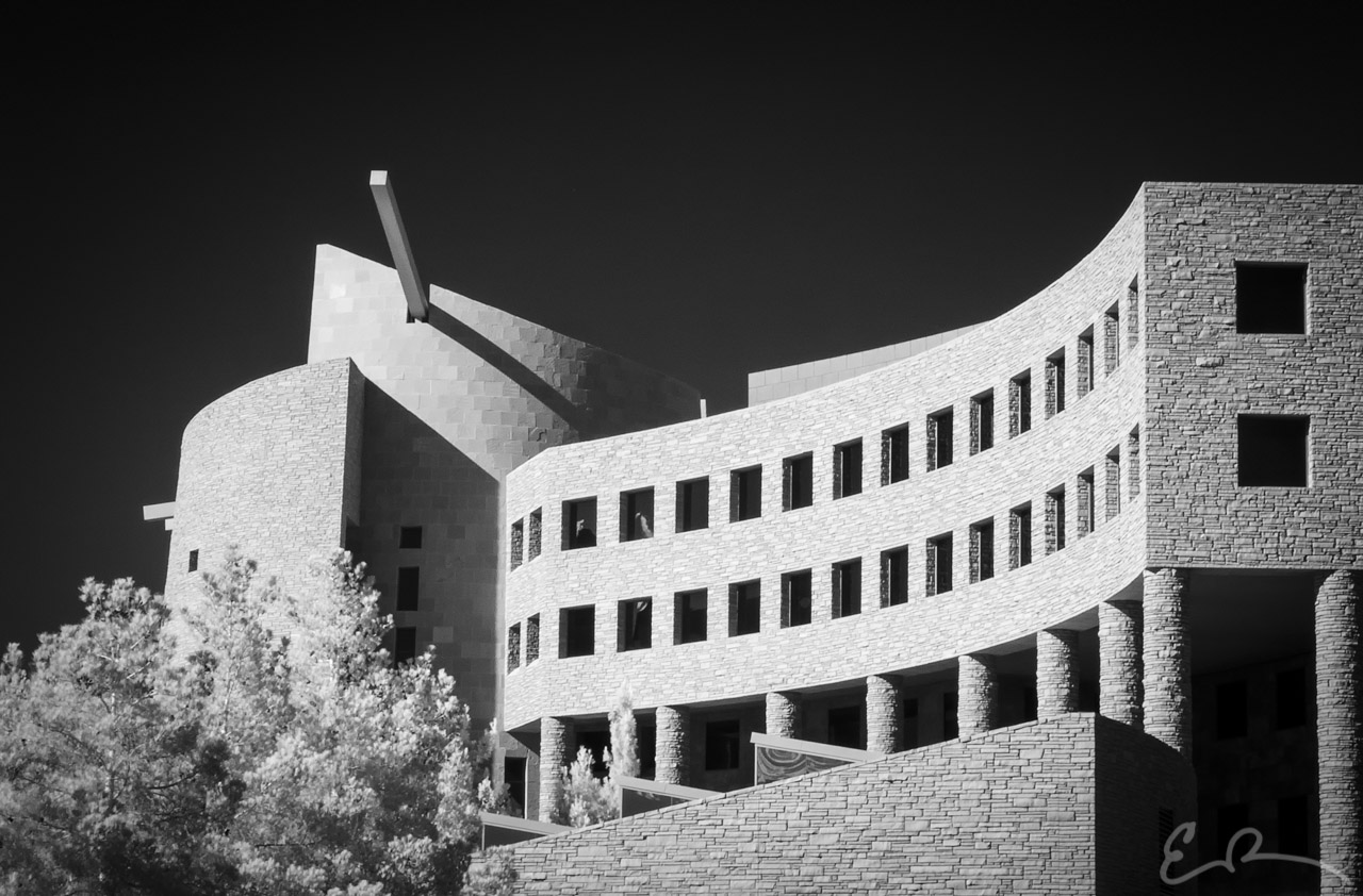 Clark County Government Center in Infrared