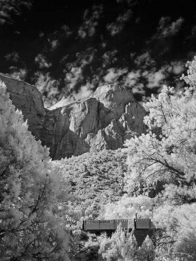Canyon Junction Bridge in Infrared