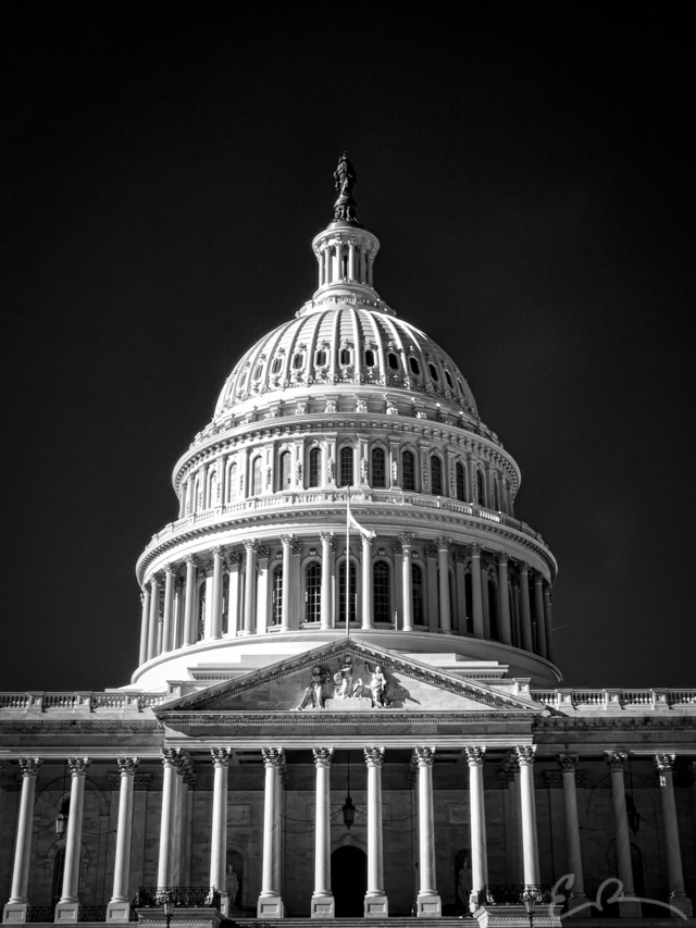 Capitol Building in Infrared II
