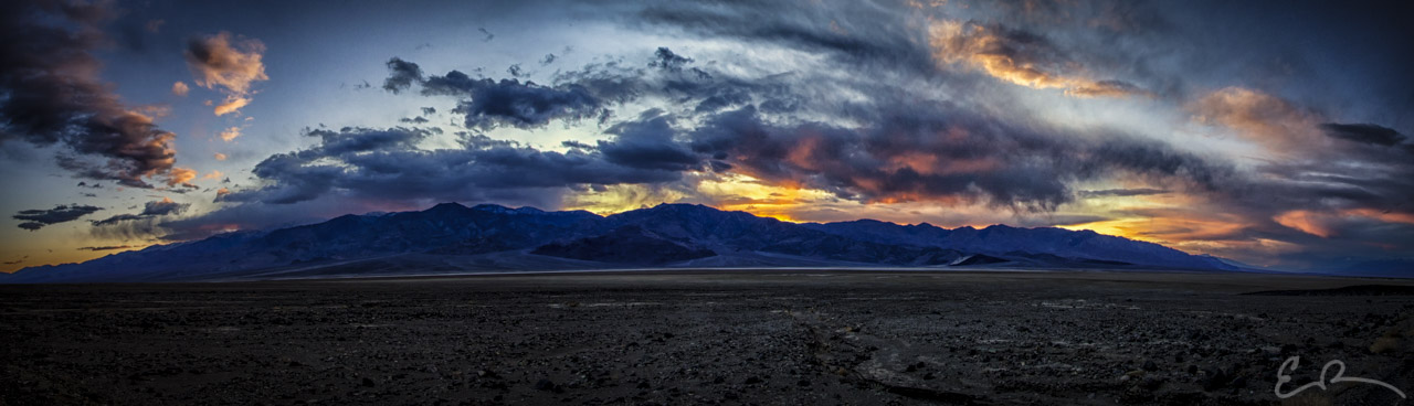 Death Valley Sunset Panorama