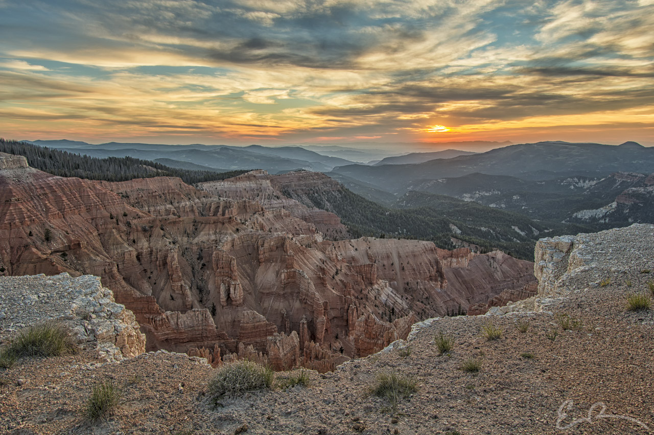 Sunset Over Cedar Breaks