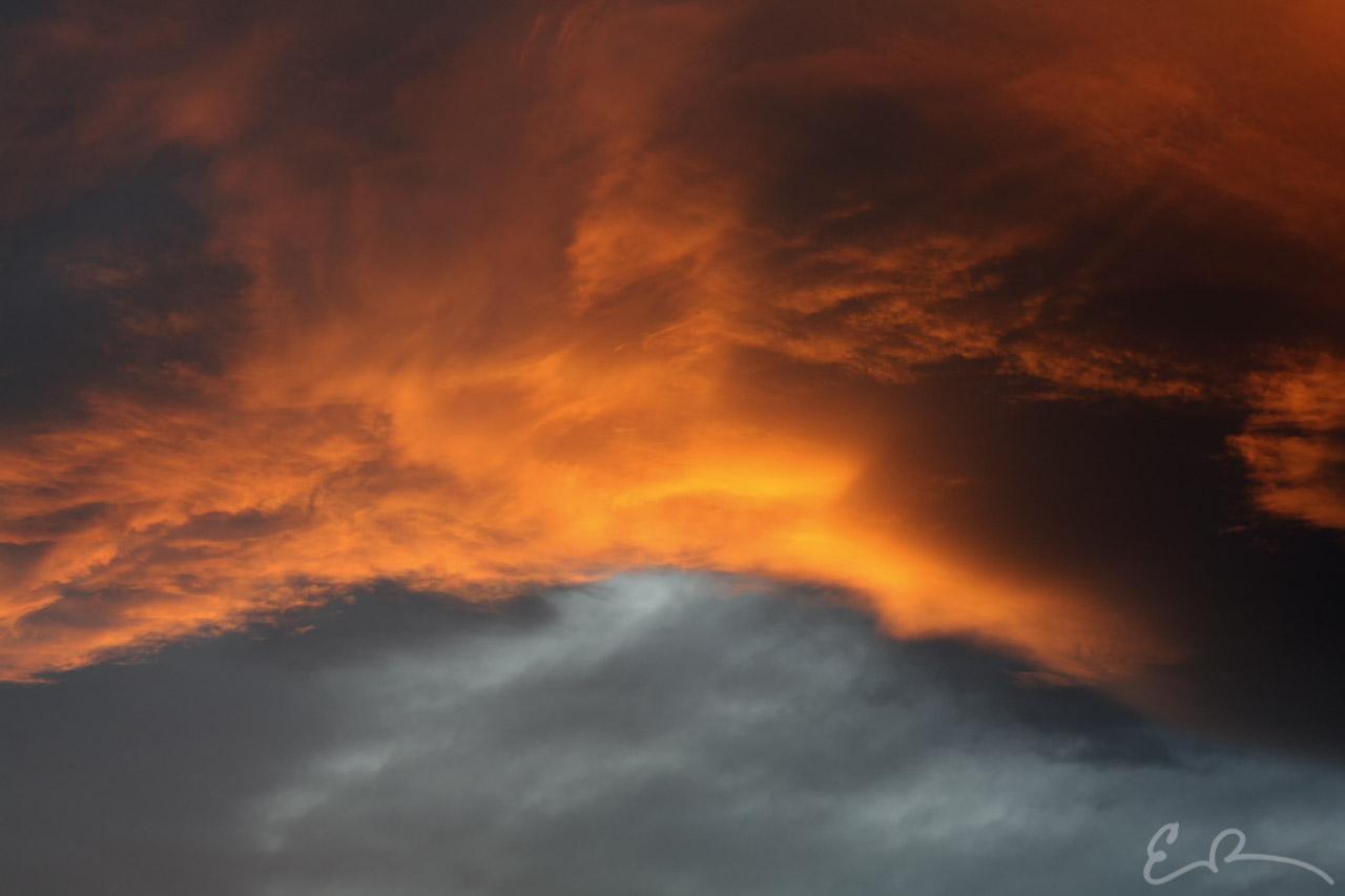 Sky on Fire (1 of 5)