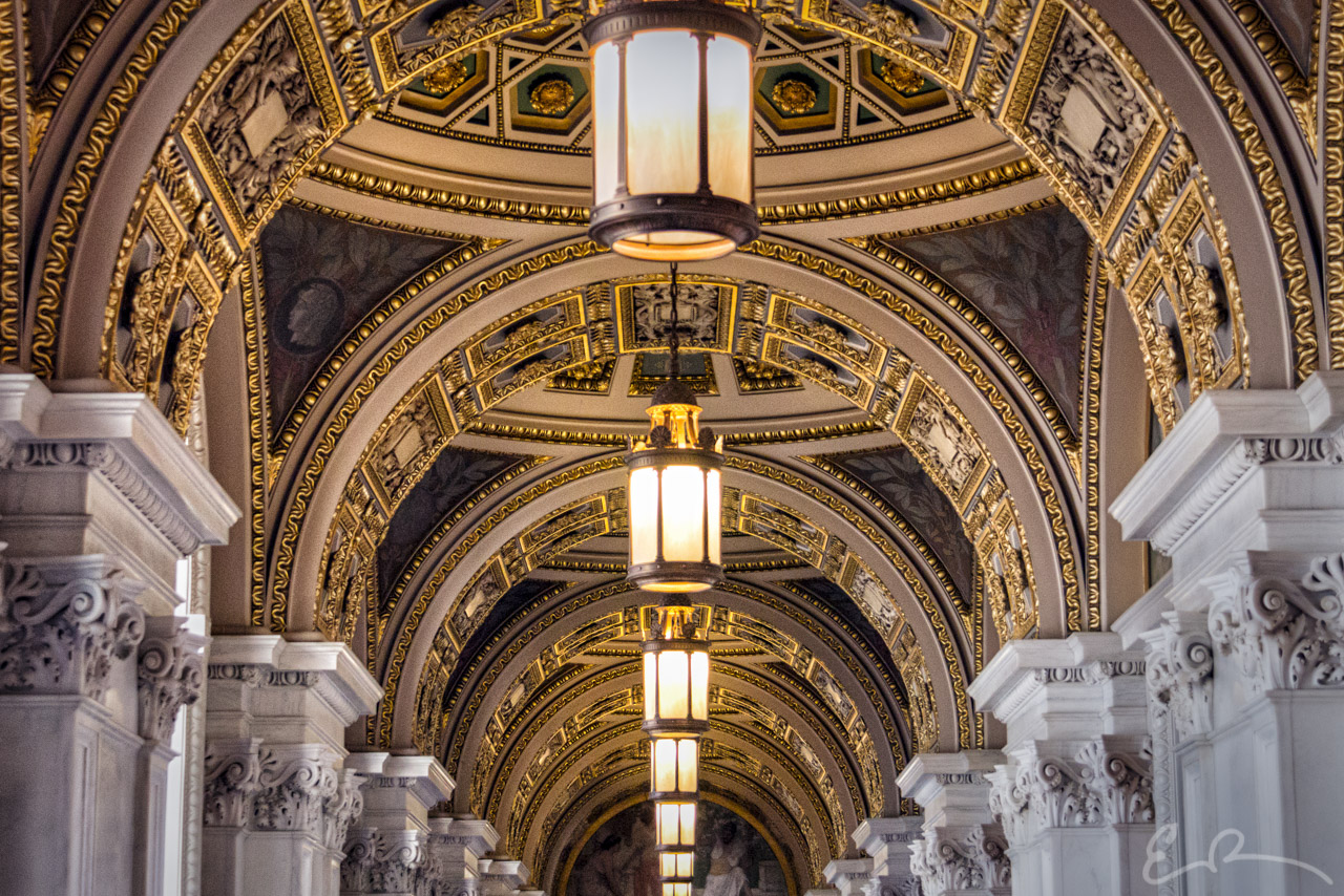 Library of Congress Staff Hall