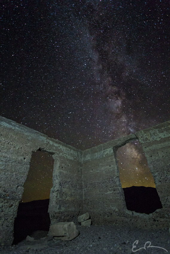 Milky Way Over Ashford Mills Ruins